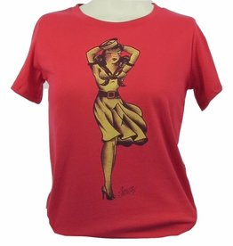 Sailor Jerry Sailor Jerry Women's Windy Sailor Girl Tee