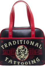 Sourpuss Sourpuss Sailor's Ruin Bowler Purse