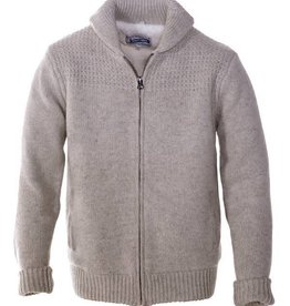 Schott Schott Men's Wool Blend Sweater Jacket