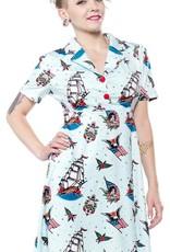 Sourpuss Sourpuss Rosie Sailor Dress