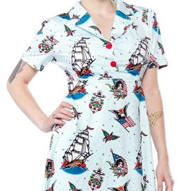 Sourpuss Sourpuss Rosie Sailor Dress