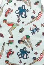 Sourpuss Sourpuss Skater Dress Divers Tattooed