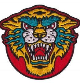 Sourpuss Embroidered Tiger Patch