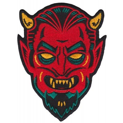 Sourpuss Embroidered  Creepy Devil Patch