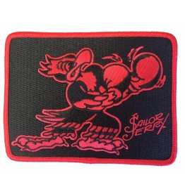 "Sailor Jerry Sailor Jerry ""Put Em Up"" Patch - Red/Black"