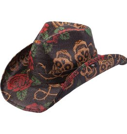 Peter Grimm PG  Tainted Love Cowboy Hat - Black