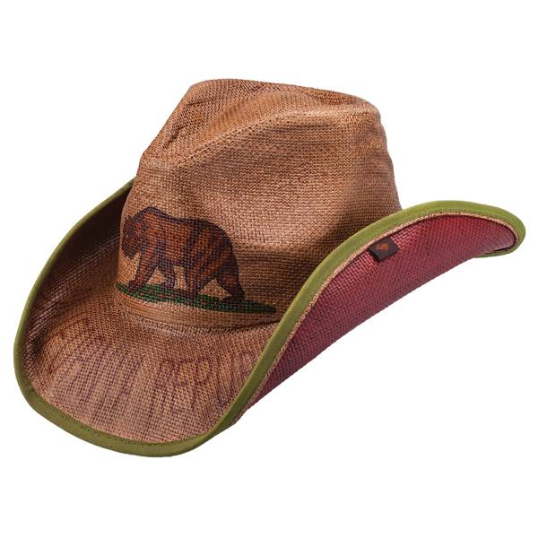 Peter Grimm PG CA Republic Cowboy Hat - Brown