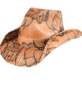 Peter Grimm PG Hamsa Cowboy Hat - Tan