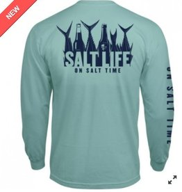 Salt Life Salt Life 5 O Clock Somewhere Pocket  Tee- LS