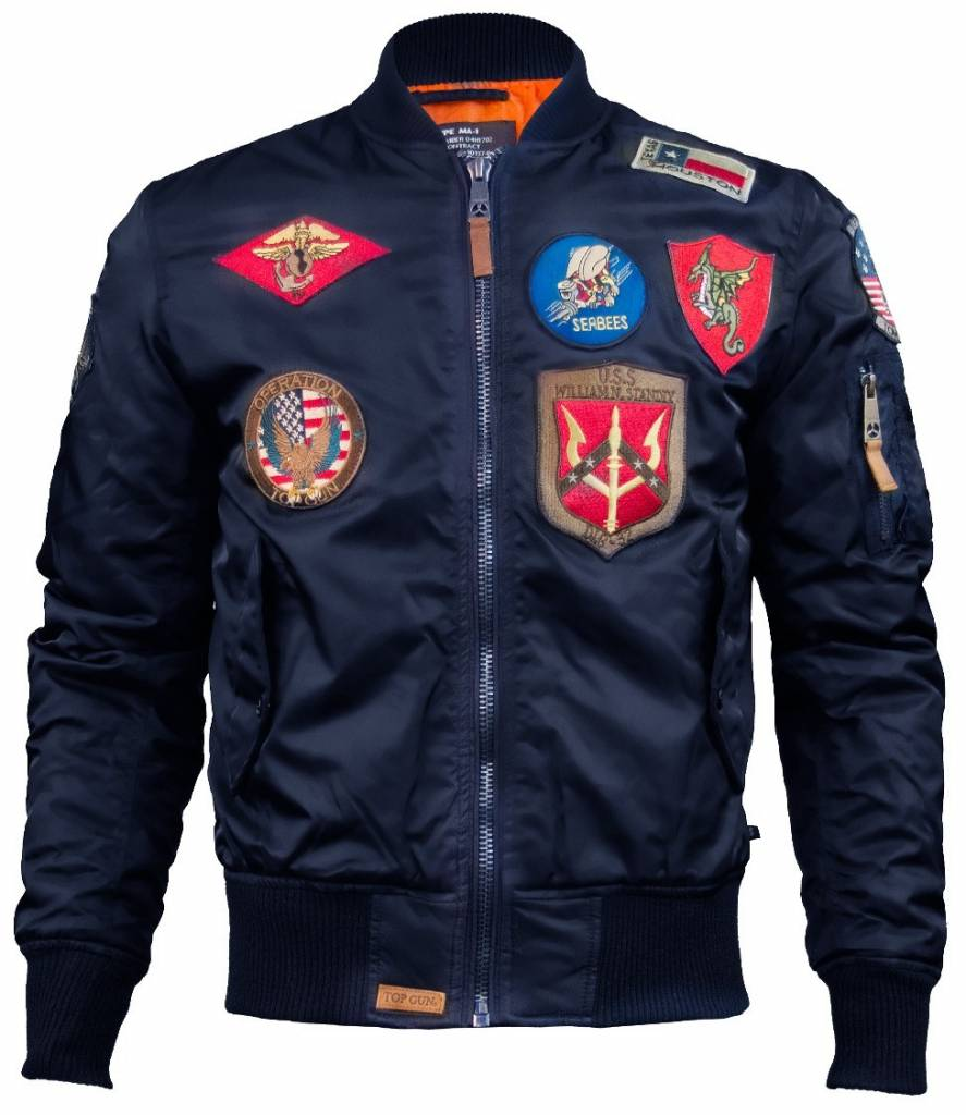 Top Gun MA-1 Nylon Jacket - Men's