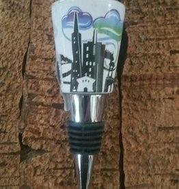 SF Mercantile SF Skyline Bottle Stopper Twilight