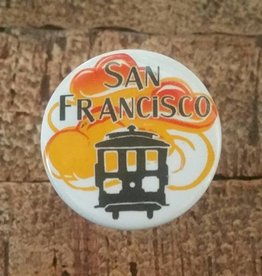 SF Mercantile SF Skyline Wine Bottle Stopper - Sunrise