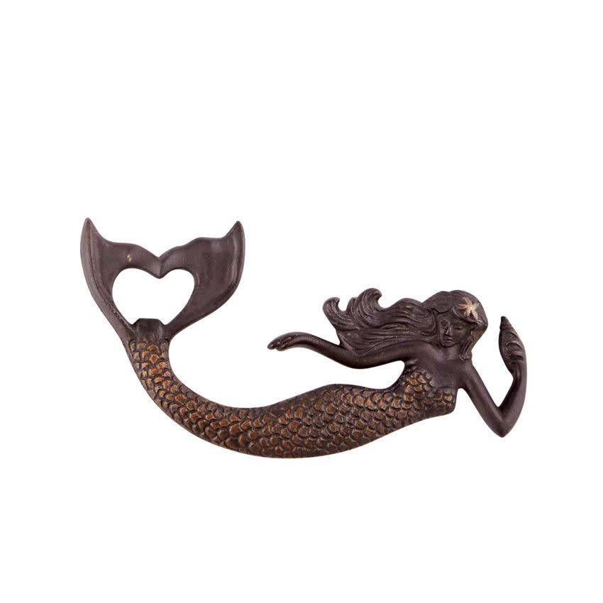 Mudpie Mermaid Bottle Opener Cast Iron
