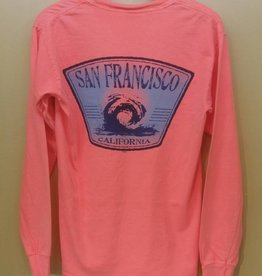 San Francisco Wave LS Tee Shirt