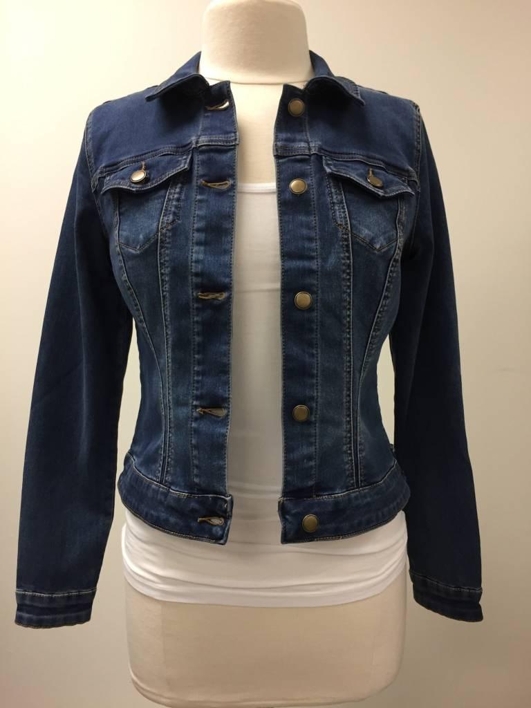 Tribal Sportswear Cropped Stretch Jean Jacket - Sashay's Women's ...