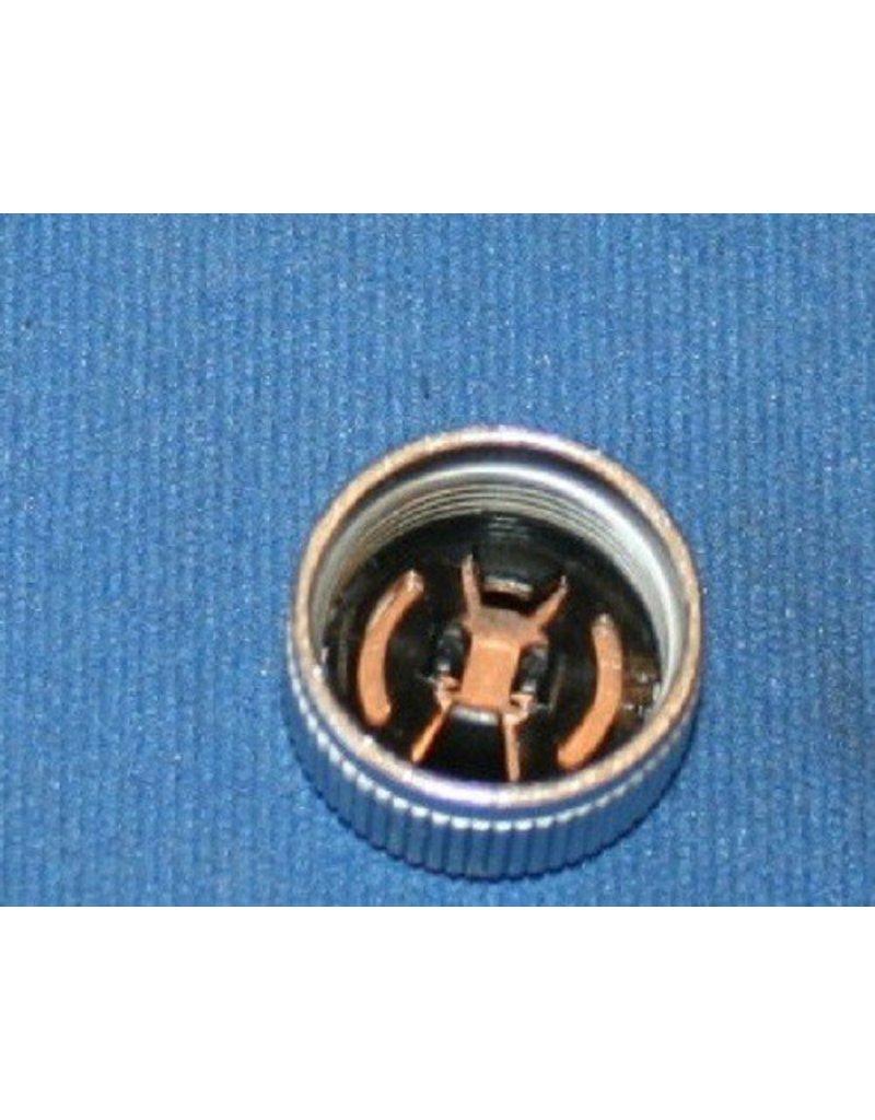 Abu Garcia Abu Garcia Ambassadeur Drive Side Chrome Spool Cap Complete With Shim and Clip - 21716 / 21717