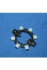 Abu Garcia Abu Garcia Ambassadeur White Plastic Brake Block System complete with six brake blocks- 1116727