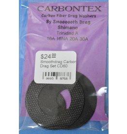 Shimano CD60 - Shimano Trinidad A Smoothdrag Carbon Drag Set