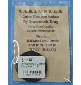 Shimano CD84 - Shimano Triton TLD Star / Triton TSM  Smoothdrag Carbon Drag Set