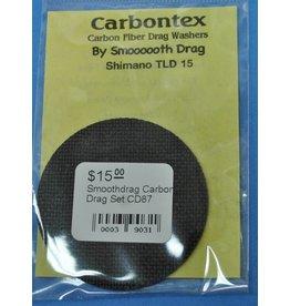 Smooth Drag CD87 - Shimano Triton TLD 15 Smoothdrag Carbon Drag Set