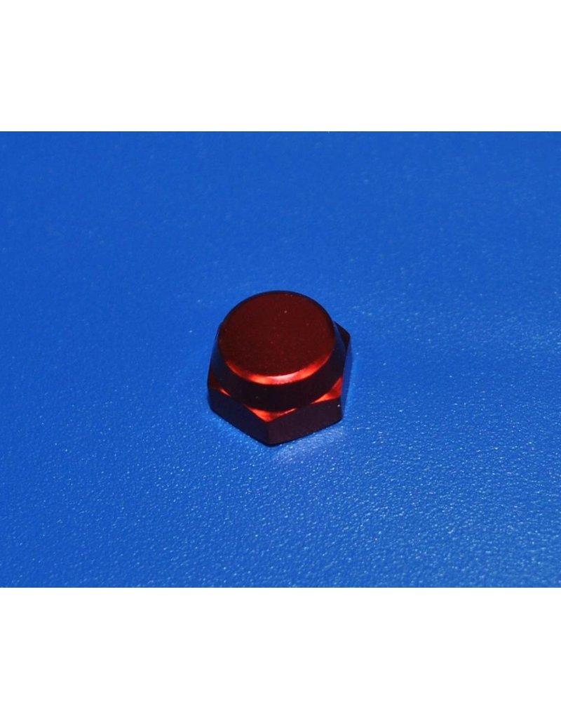 Abu Garcia 1281160  - Abu Garcia Aluminum Handle Nut (RED)