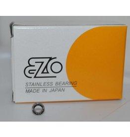 EZO-SPB D4 - 4x7x2 - Unshielded Stainless Steel Bearing