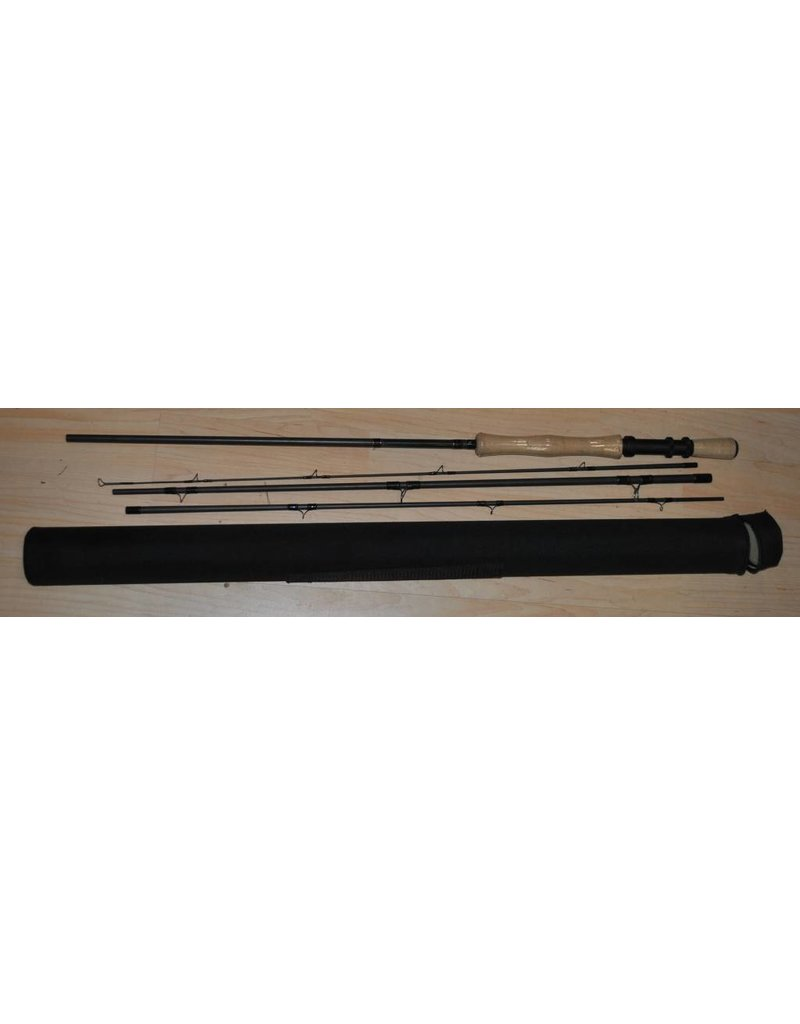 910443M- 9 foot 4 piece 9/10 wt Hard Case included Fly Rod  43 million Modulus Graphite with Fighting Butt
