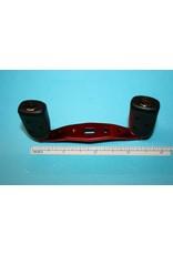 Abu Garcia Abu Garcia Ambassadeur Ported Curved Anodized Red Aluminum Handle