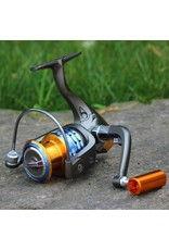 A610 - 12+1BB Fishing Spinning Reel Saltwater Reels Metal Freshwater Left Right Hand A6