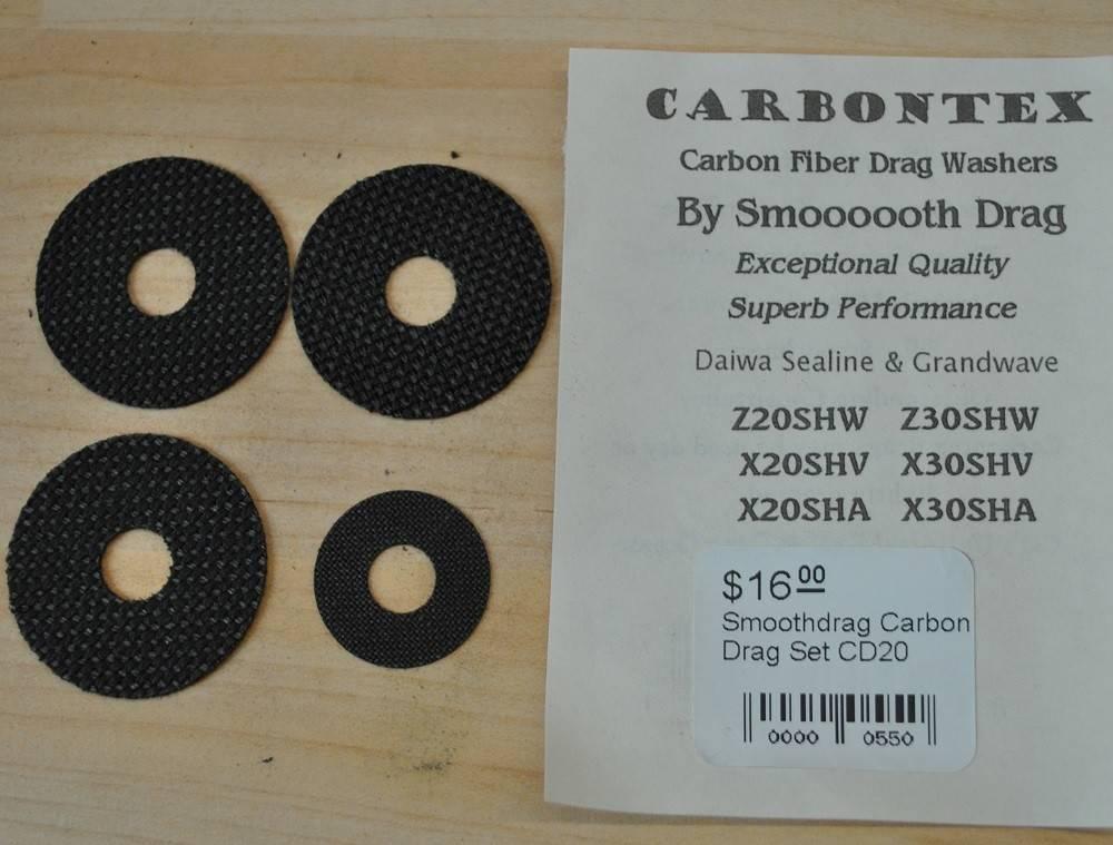 Daiwa Daiwa Sealine Grandwave Smoothdrag Carbon Drag Set