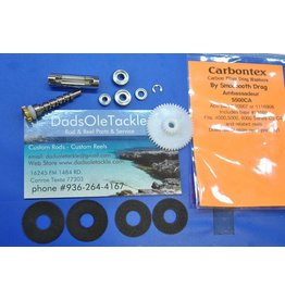 DadsOleTackle K69 - Ambassadeur 4500 4600 Stainless Steel Bearing + Drag Upgrade Kit