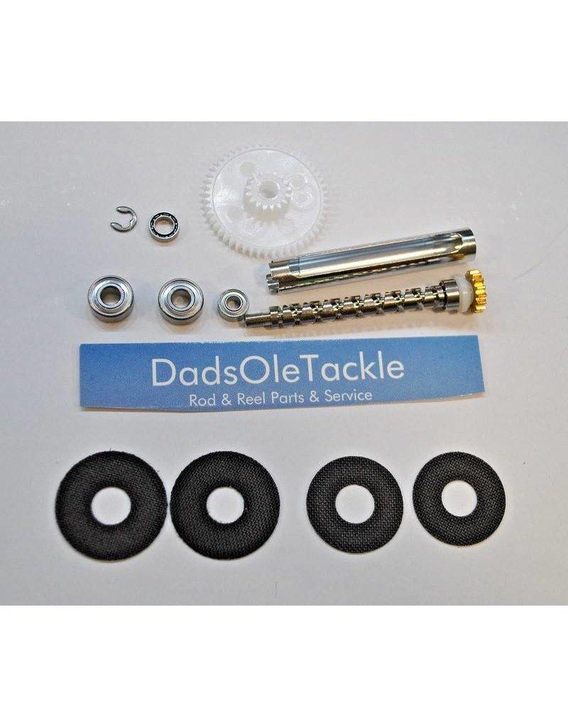 Abu Garcia Abu Garcia Ambassadeur 6000 6500 6600 Super Tune Upgrade Kit With Bearings & Carbon Drag Washers
