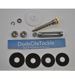 DadsOleTackle K66 - Abu Garcia Ambassadeur 5000 5500 5600 Stainless Steel Bearing & Crabon Drag upgrade Kit