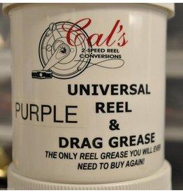 Cal's Grease 1/2 Oz. - Cal's Purple Universal Reel & Star Drag Grease