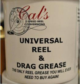 Cal's Grease 2 oz. - Cal's TAN Universal Reel & Star Drag Grease