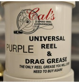 Cal's Grease 2 oz. - Cal's Purple Universal Reel & Star Drag Grease