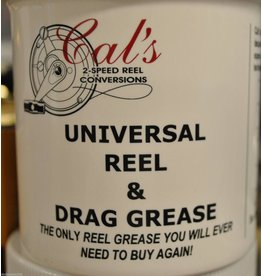 Cal's Grease CAL'S - Syrenge T 1/4  - Cal's TAN Universal Reel & Star Drag Grease 1/4 oz. in Syrenge