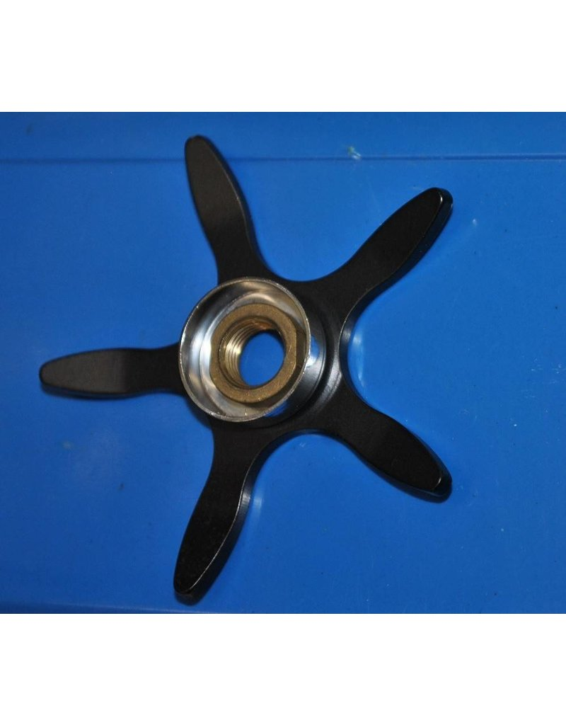 Abu Garcia 1124375 - Abu Ambassadeur Curved Black Star Wheel