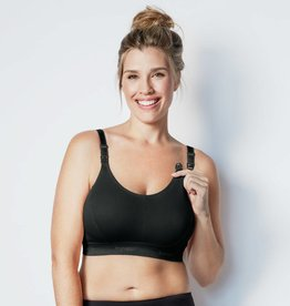 Bravado Designs Bravado Original Nursing Bra Double Plus -Black