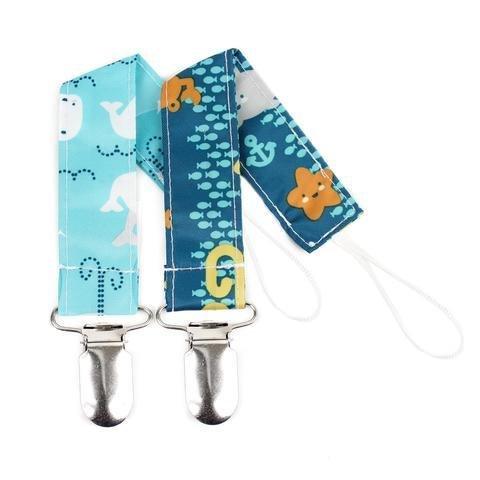 Bumkins Bumkins Pacifier Clip, 2 pk