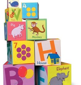 EeBoo eeBoo Tot Tower - Revised Alphabet