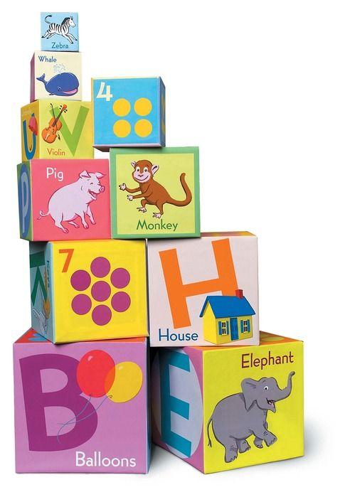 EeBoo eeBoo Tot Tower - Revised Alphabet