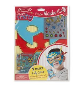Melissa & Doug Melissa & Doug Simply Crafty - Masks and Cuffs