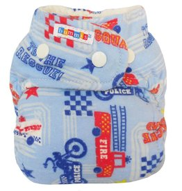 Bummis Bummis Flannel Fitted Diaper