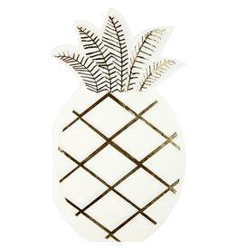 Meri Meri Pineapple Napkin Diecut large