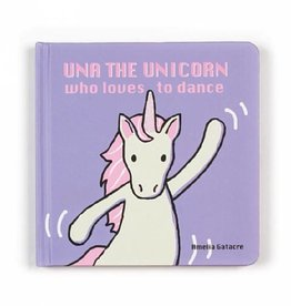 Jellycat Jellycat Una The Unicorn Who Loves to Dance Book