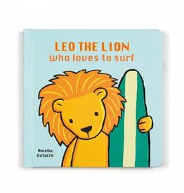 Jellycat Jellycat Leo The Lion Who Loves To Surf Book