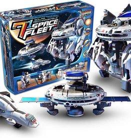 7 in 1 Solar Rechargeable Space Fleet Kit