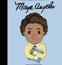 Quarto Little People Big Dreams Maya Angelou