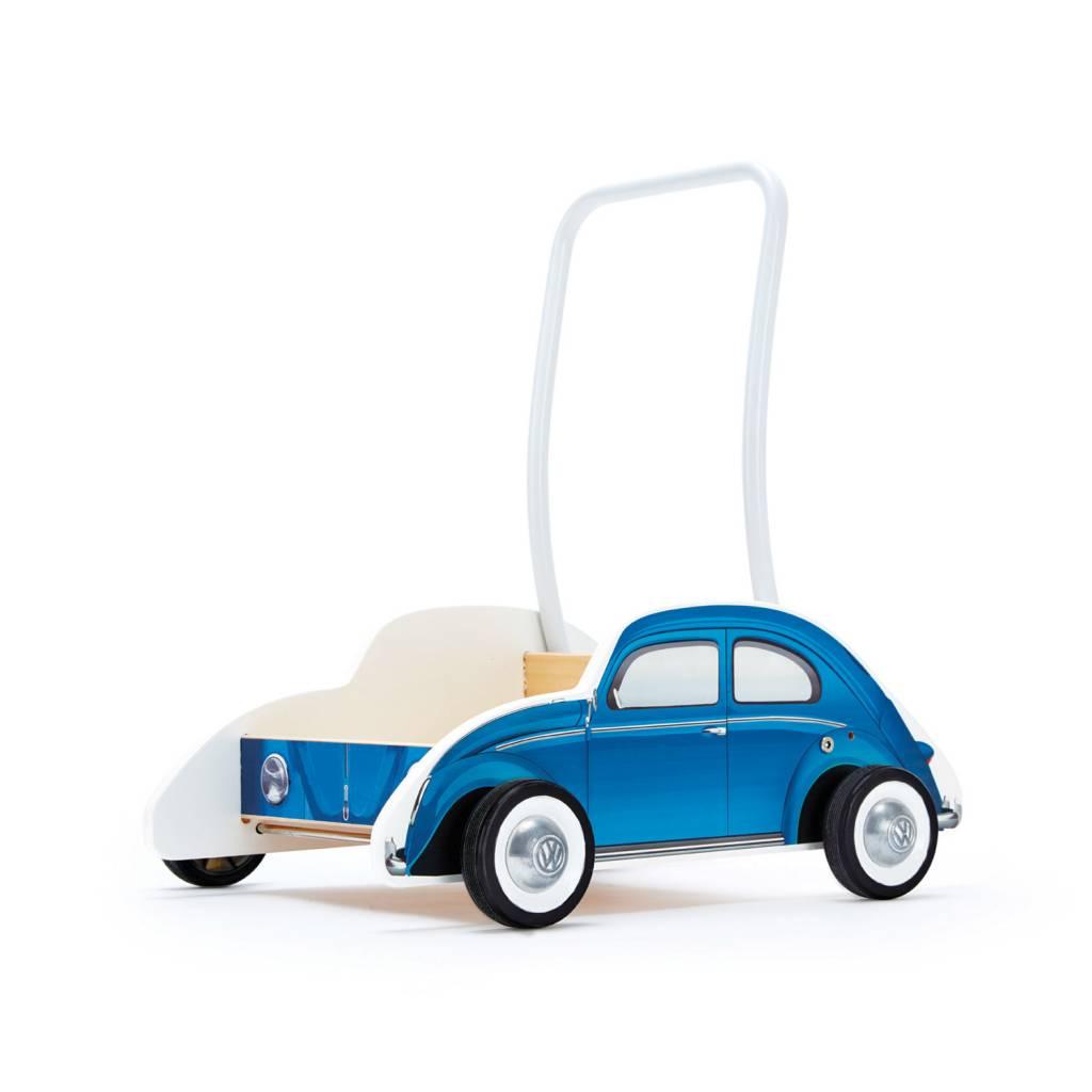 volkswagen walker b hape products a bus classic blue rockin